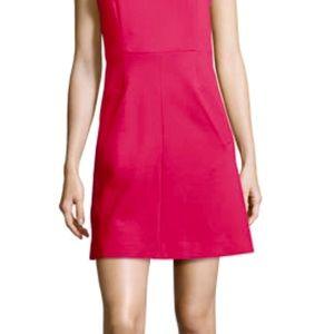 Diane von Furstenberg pink fuchsia dress